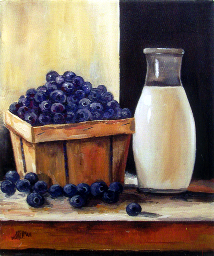 Berries & Cream   (8 x 10)