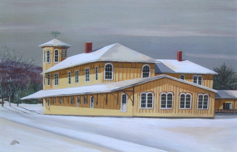Canaan Union Station #2   (18 x 36)