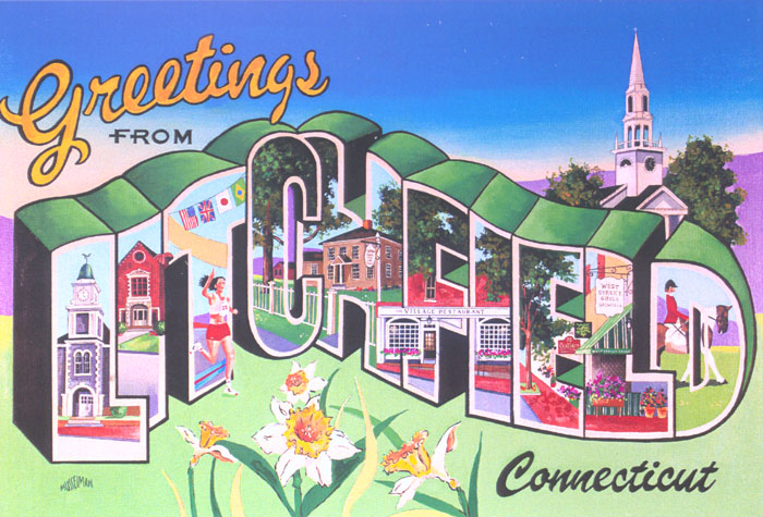 Greetings from Litchfield   (20 x 30)