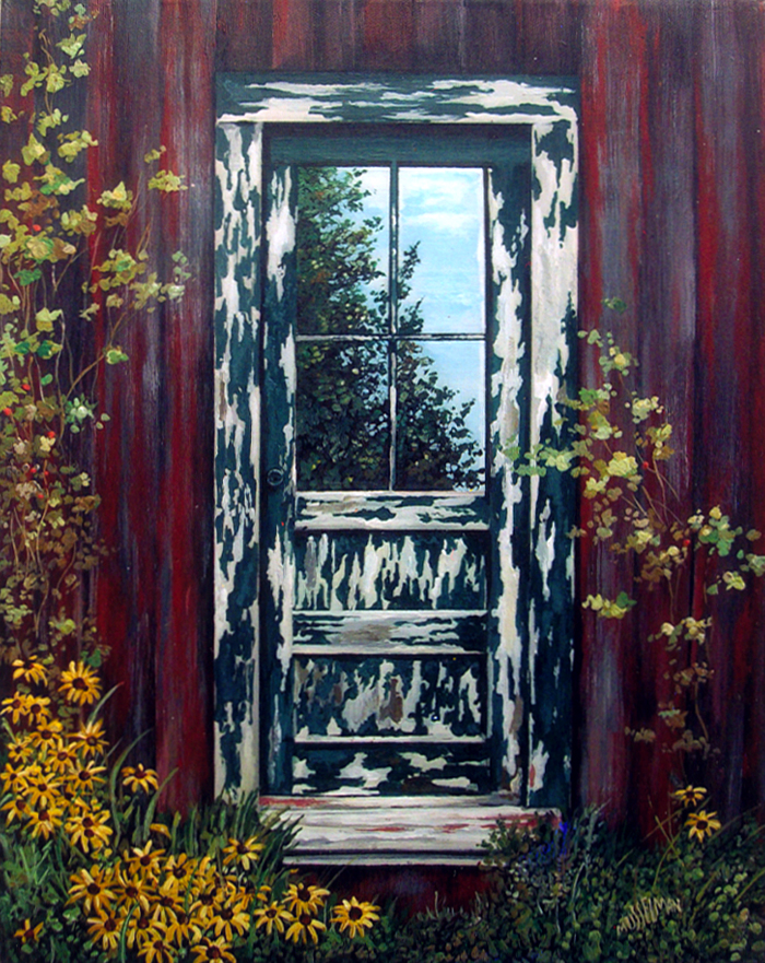 Rustic Reflections  (11 x 14)