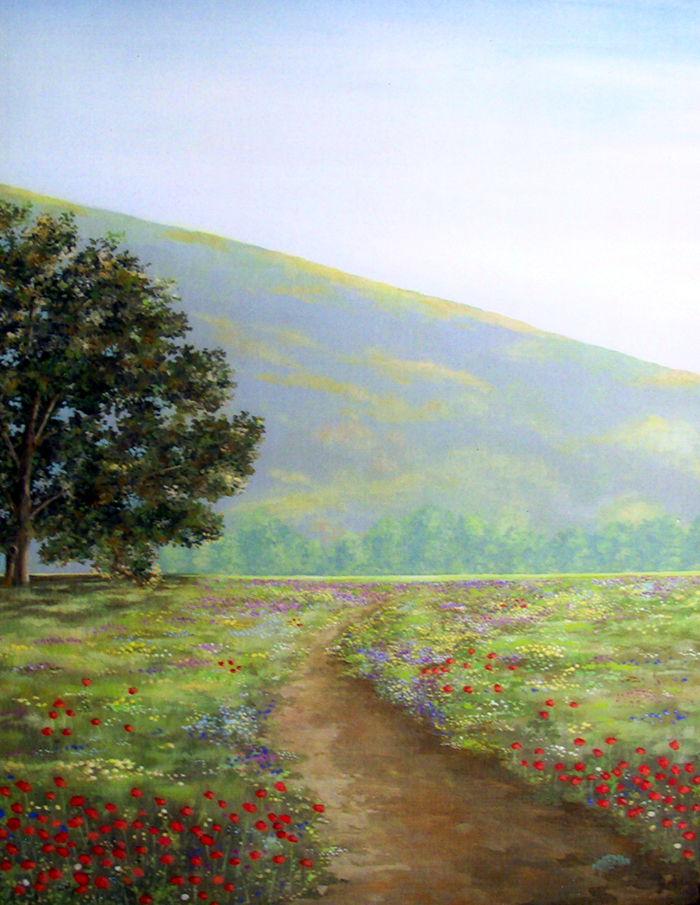 Spring Meadow   (24 x 28)