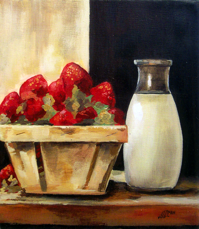 Strawberries & Cream   (8 x 10)