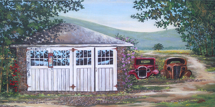 Summer Shed   (18 x 36)