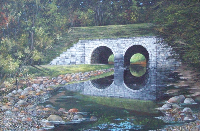 Whiting Arches - East Canaan, CT   (36 x 24)